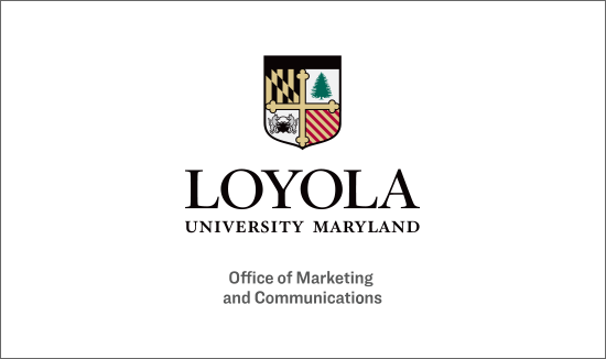 Office of Marketing and Communications text beneath the primary Loyola logo