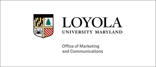 Office of Marketing and Communications text beneath the horizontal Loyola logo
