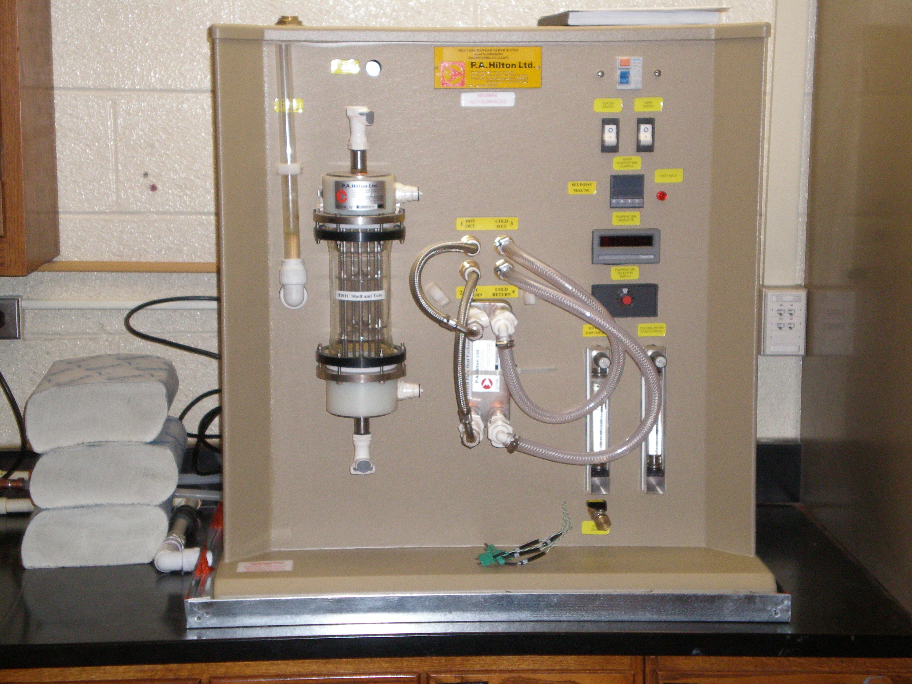 Hilton Heat Exchanger Test Rig