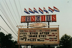 Bengies Drive-in Theatre Marquee Exterior