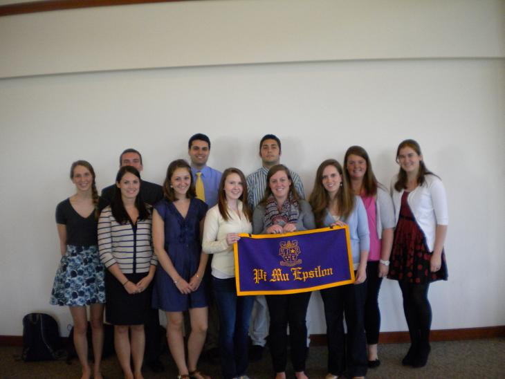 Pi Mu Epsilon Student Members