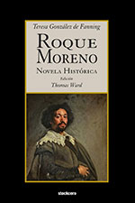 Roque Moreno book cover with portrait