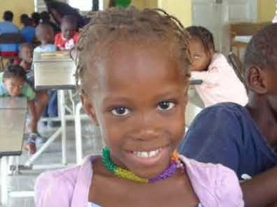 Young girl from Haiti