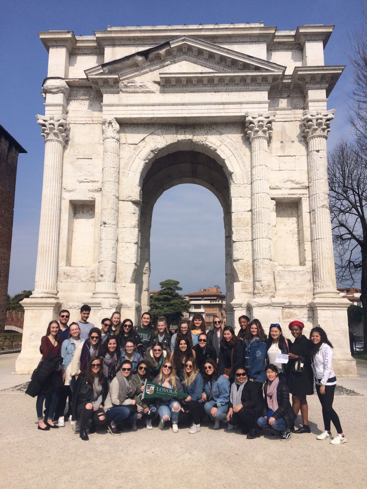 Loyola Newcastle Students on Trip