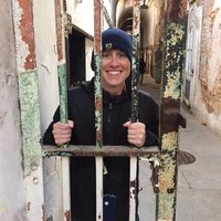 Dr. Shoenberger at Eastern State Penitentiary
