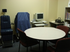 Columbia Clinic Voice Therapy Room