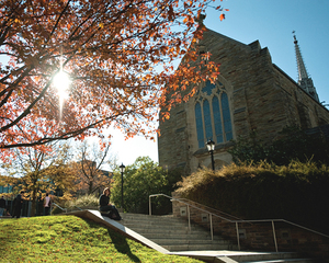 alumni chapel fall