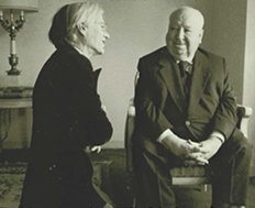 warhol and hitchcock talking