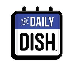 Calendar with text: 'The Daily Dish'