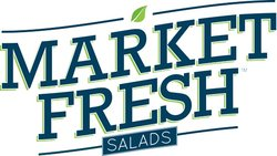 Text: 'Market Fresh Salads'