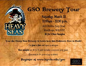 Heavy Seas Brewery Tour