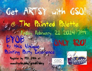GSO Paint Party Flyer
