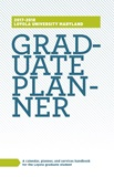 Cover page for 2017-2018 Graduate Planner and Handbook