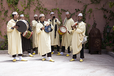 Traditional Musicians in Morocco