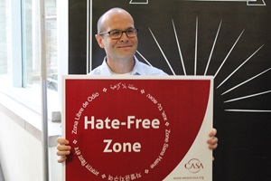 sean bray hate free red sign
