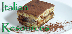 tiramisu italian resources link