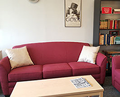 reading room sofa