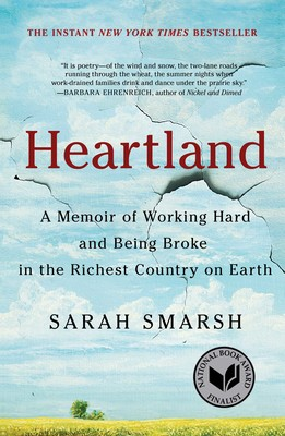 Picture of the book cover to Sarah Smarsh's Heartland
