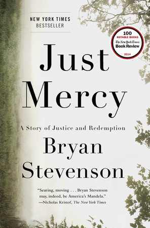 Front book cover of Bryan's Stevenson's Just Mercy