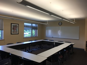 Photo of classroom Flannery 427