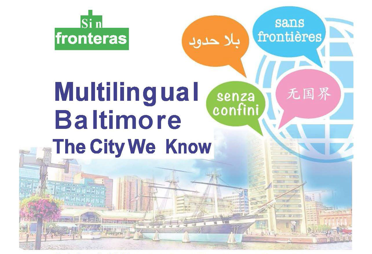 Flyer for Multilingual Baltimore