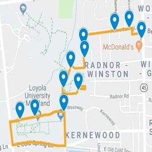 Eastside - Center Campus Route