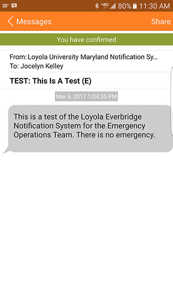 Greyhound Alerts Public Safety Loyola University Maryland