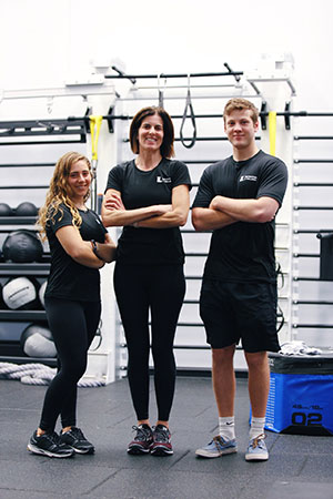 Group photo of the FAC's staff personal trainers