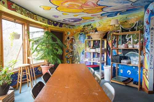 South Round art room