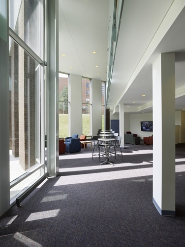 flannery hall interior daylighting