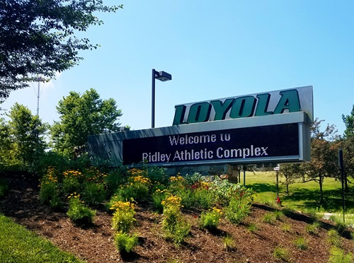 Pollinator Garden at Ridley Athletic Complex