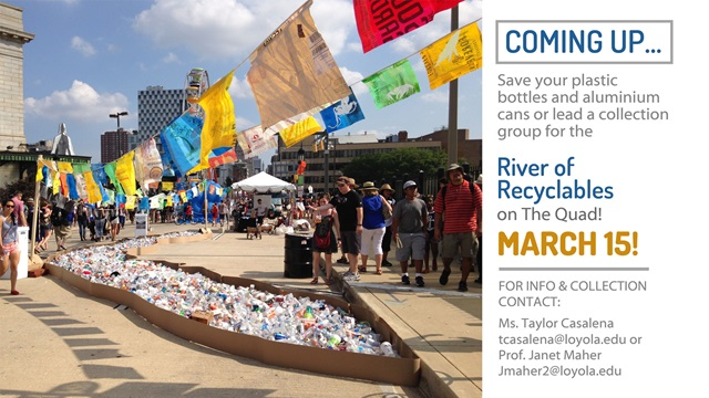 river of recyclables