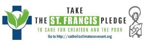 take the st. francis pledge