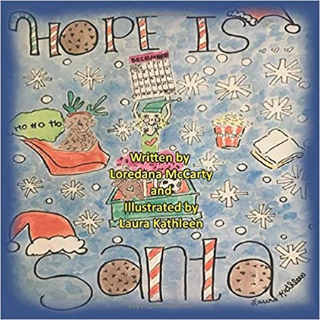 Book cover for 'Hope is Santa' by Loredana Petrucci McCarty