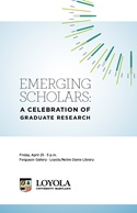 Emerging Scholars Program cover 2014