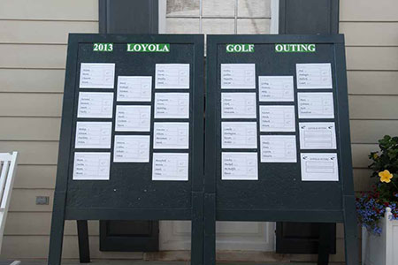 Loyola sign with player lineups