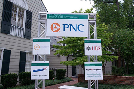PNC Golf Invitational Sign