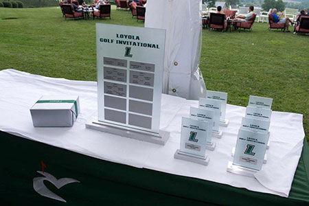 Golf invitational trophies