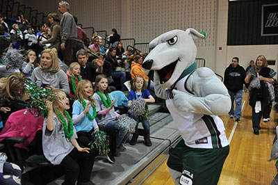 Greyhound at Loyola's Women in Sports Day