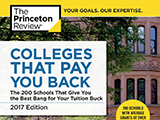 Princeton Review Colleges that Pay You Back cover