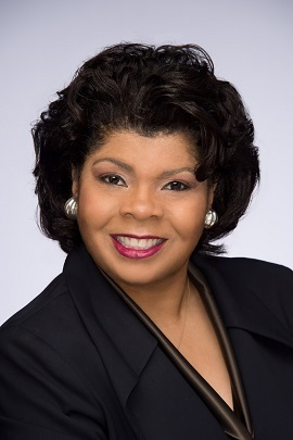Posed photo of CNN political analyst April Ryan