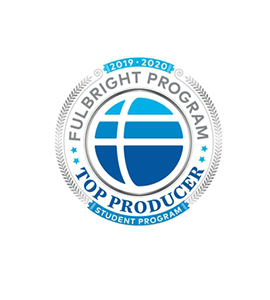Top producing Fulbright program 2019