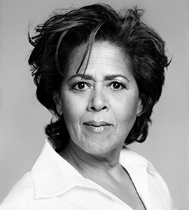 Anna Deavere Smith, a playwright and actor