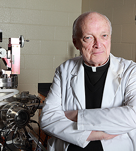 Rev. Frank Haig, S.J., professor emeritus of physics