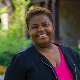 Photo of Cheryl Moore-Thomas, Ph.D., Loyola's chief equity and inclusion officer