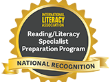 Reading Specialist Program Recognition