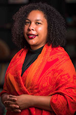 Photo of keynote speaker, Maneka Deanna Brooks, Ph.D.