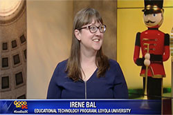 Irene Bal on TV