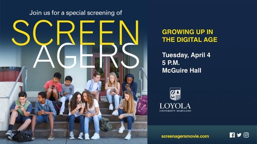 The Educational Technology program presents the Screenagers Documentary Film screening on April 4, 2017.