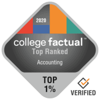 College Factual Top Ranked Program Badge